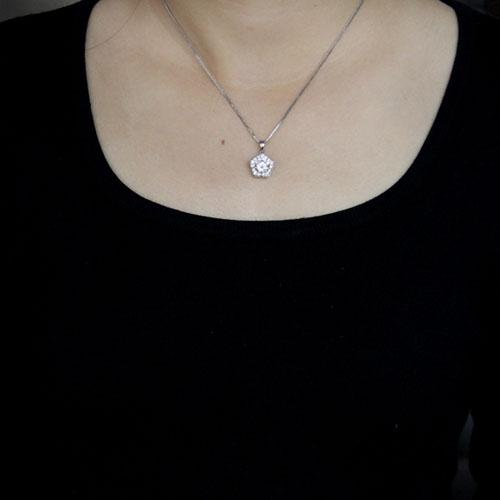 pendentif femme argent zirconium 8300523 pic4