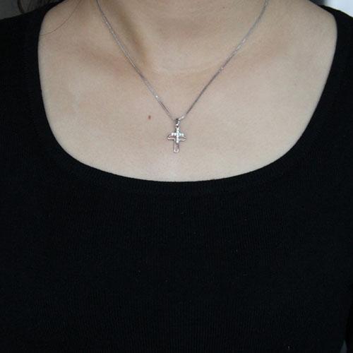 pendentif femme argent zirconium 8300524 pic4