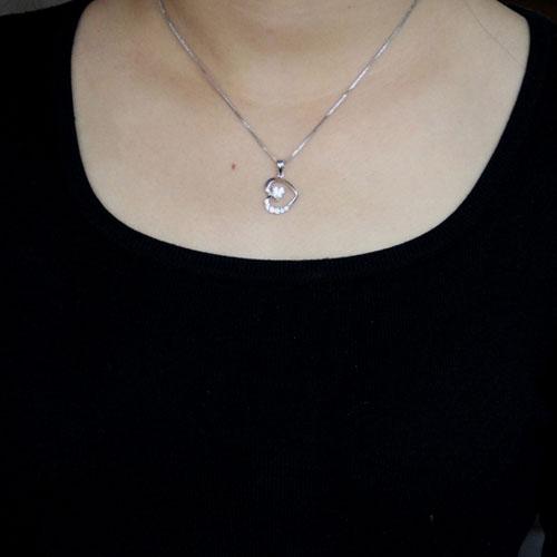 pendentif femme argent zirconium 8300525 pic4