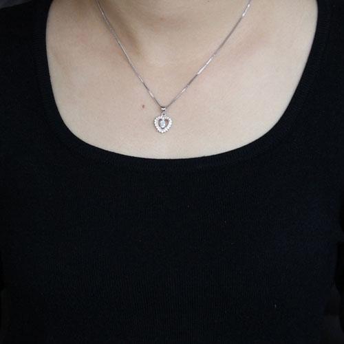 pendentif femme argent zirconium 8300528 pic4