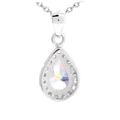 pendentif femme argent zirconium 8300529 pic3