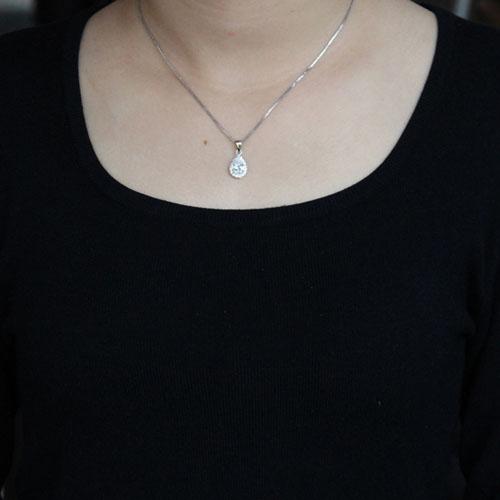 pendentif femme argent zirconium 8300529 pic4