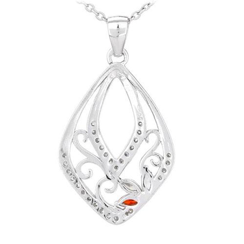 pendentif femme argent zirconium 8300538 pic3