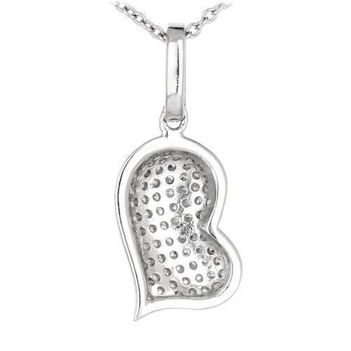 pendentif femme argent zirconium 8300550 pic3