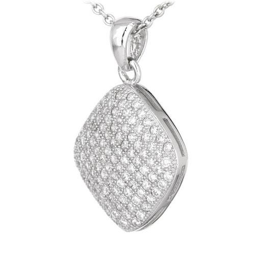pendentif femme argent zirconium 8300551 pic2