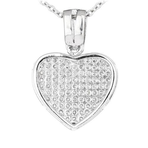 pendentif femme argent zirconium 8300552 pic3