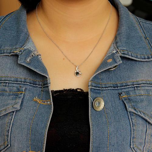 pendentif femme argent zirconium 8300604 pic4