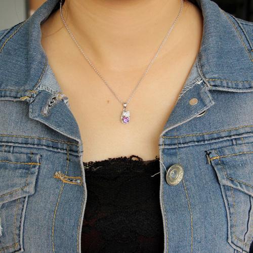 pendentif femme argent zirconium 8300612 pic4
