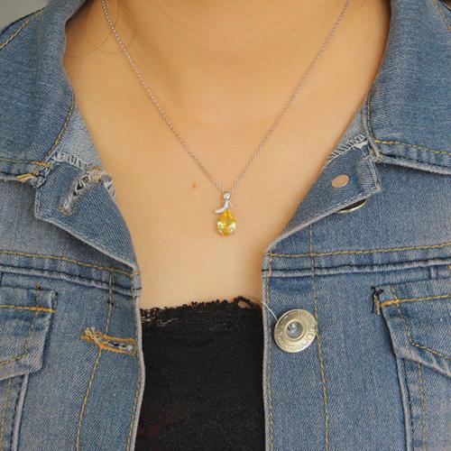 pendentif femme argent zirconium 8300613 pic4