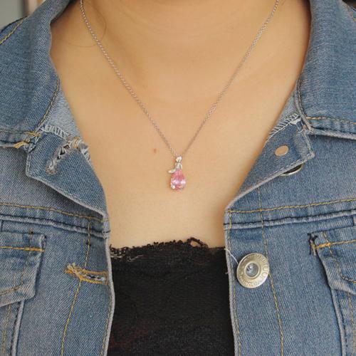 pendentif femme argent zirconium 8300614 pic4