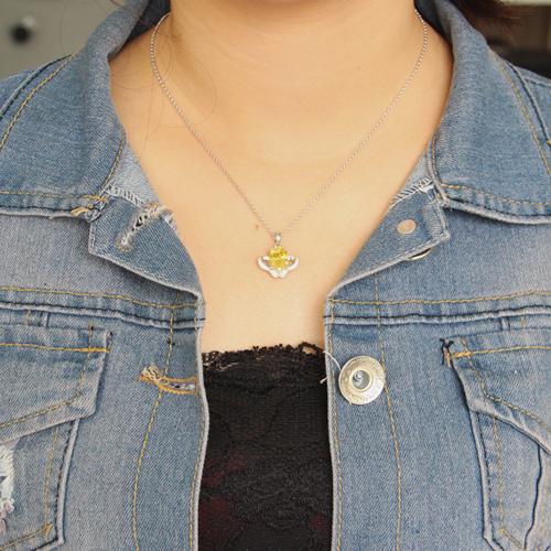 pendentif femme argent zirconium 8300624 pic4