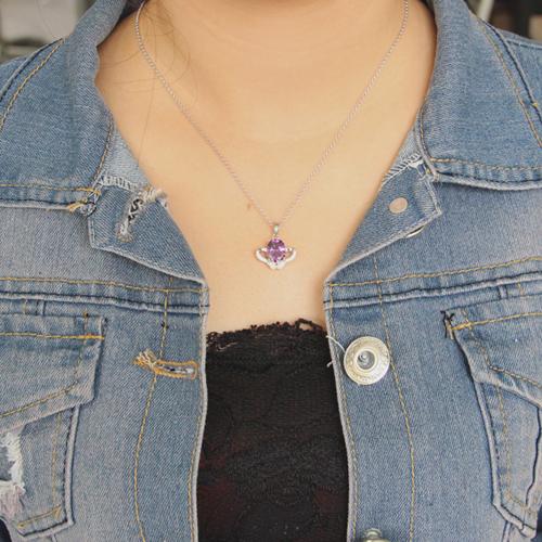 pendentif femme argent zirconium 8300625 pic4