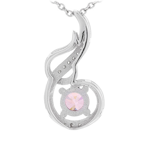 pendentif femme argent zirconium 8300635 pic3