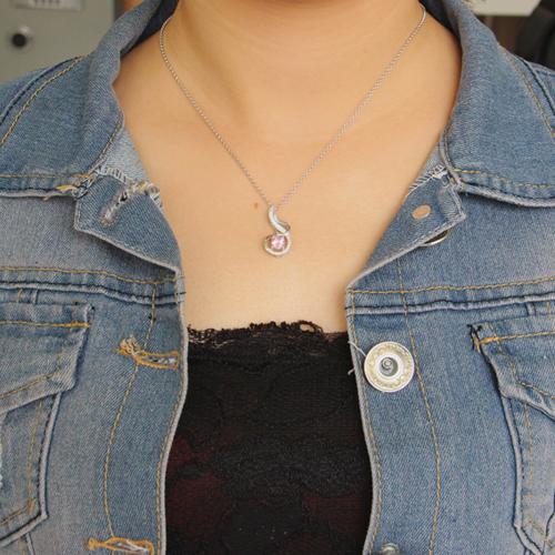 pendentif femme argent zirconium 8300635 pic4