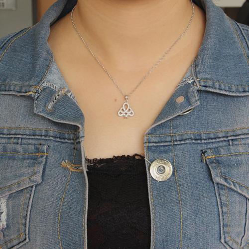 pendentif femme argent zirconium 8300653 pic4