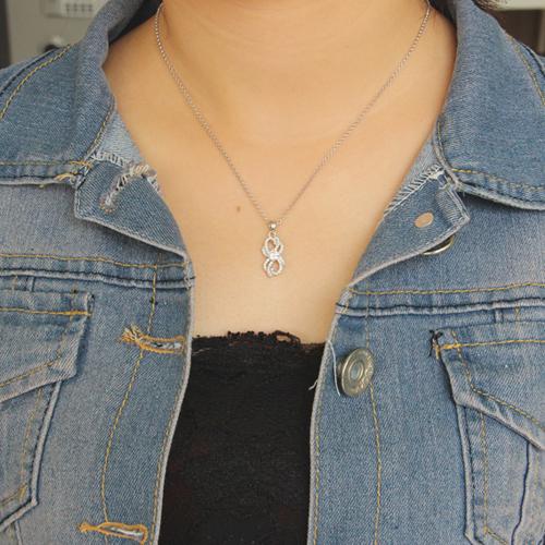 pendentif femme argent zirconium 8300660 pic4