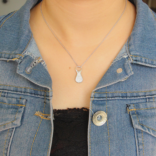 pendentif femme argent zirconium 8300672 pic4