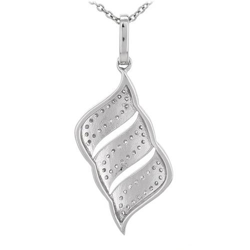 pendentif femme argent zirconium 8300675 pic3