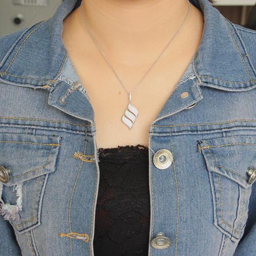 pendentif femme argent zirconium 8300675 pic4