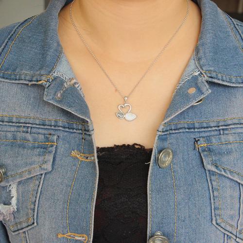 pendentif femme argent zirconium 8300678 pic4