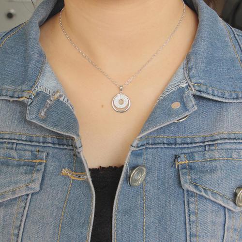 pendentif femme argent zirconium 8300682 pic4