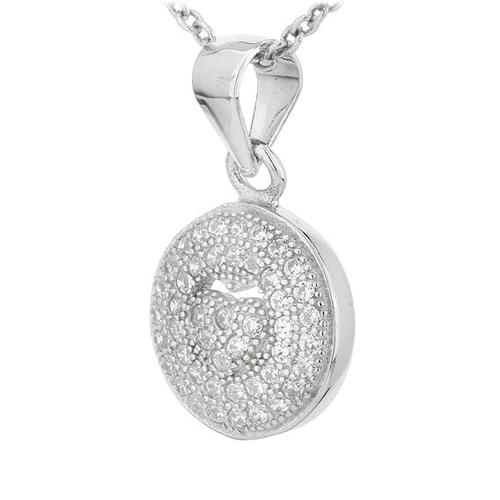 pendentif femme argent zirconium 8300700 pic2