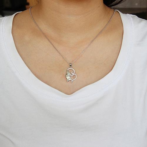 pendentif femme argent zirconium 8300710 pic4