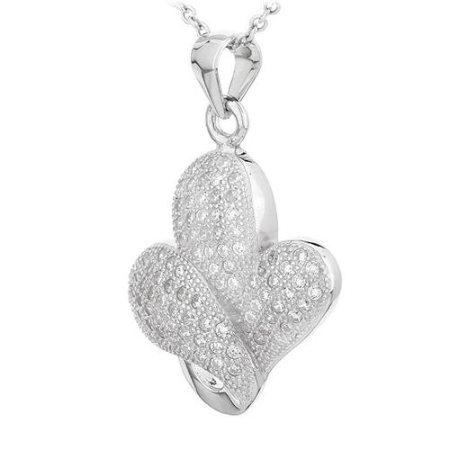 pendentif femme argent zirconium 8300712 pic2