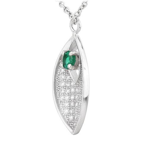 pendentif femme argent zirconium 8300716 pic2