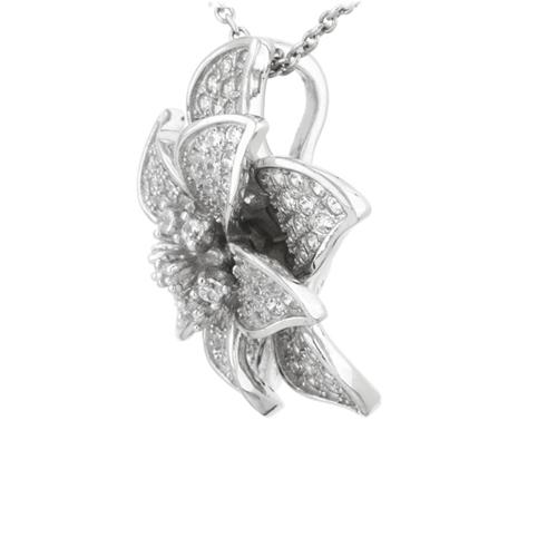 pendentif femme argent zirconium 8300741 pic2