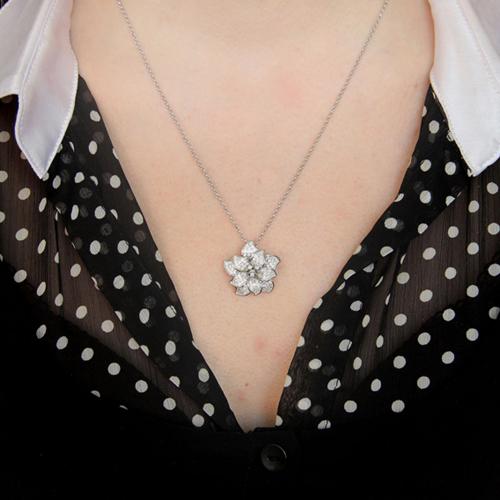 pendentif femme argent zirconium 8300741 pic4