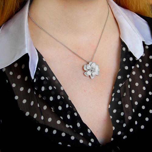 pendentif femme argent zirconium 8300742 pic5