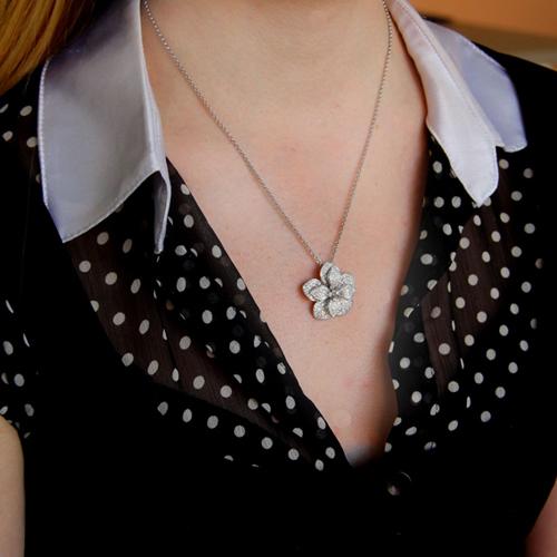 pendentif femme argent zirconium 8300744 pic5