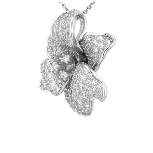 pendentif femme argent zirconium 8300745 pic2