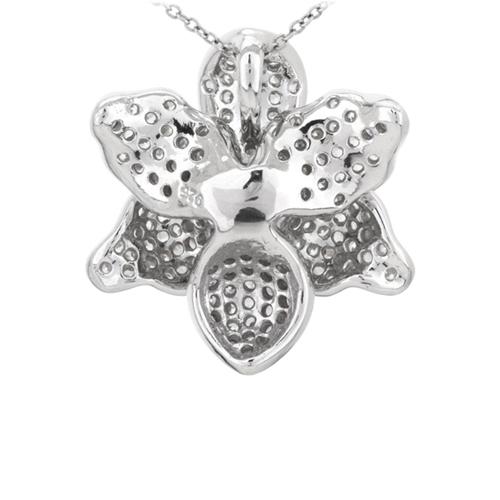 pendentif femme argent zirconium 8300745 pic3