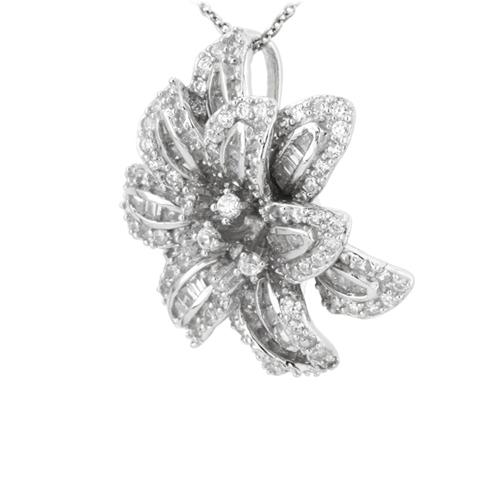 pendentif femme argent zirconium 8300746 pic2