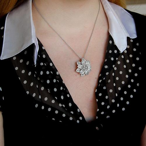 pendentif femme argent zirconium 8300746 pic5