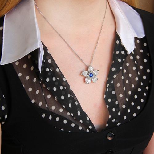 pendentif femme argent zirconium 8300748 pic5