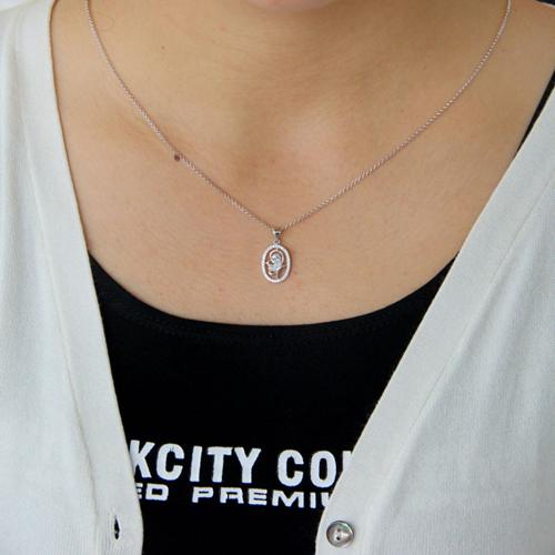 pendentif femme argent zirconium 8300750 pic4