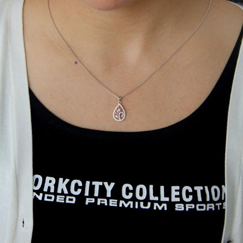 pendentif femme argent zirconium 8300761 pic4