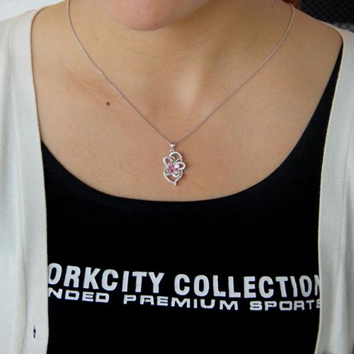 pendentif femme argent zirconium 8300762 pic4