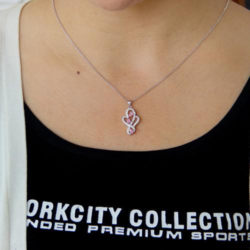 pendentif femme argent zirconium 8300763 pic4