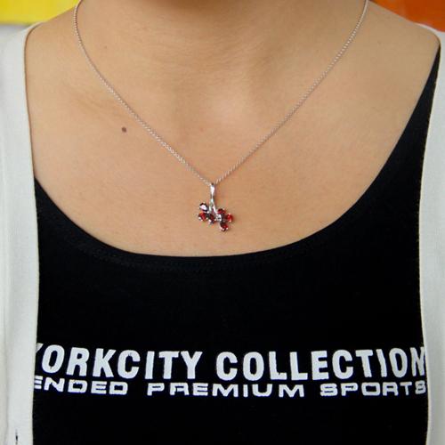 pendentif femme argent zirconium 8300772 pic4