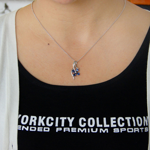 pendentif femme argent zirconium 8300773 pic4