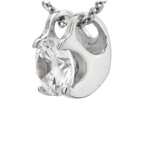 pendentif femme argent zirconium 8300774 pic2