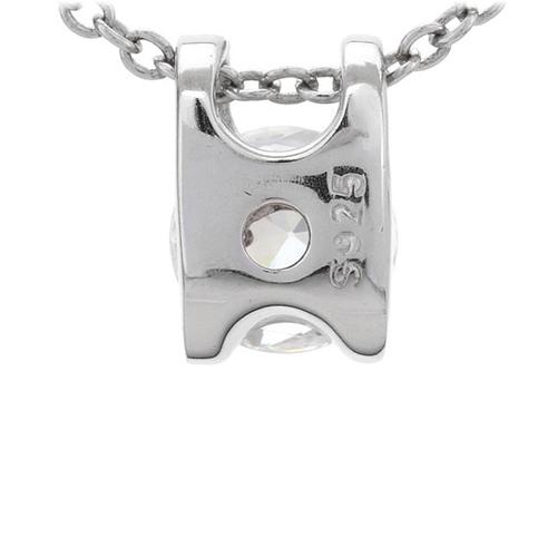 pendentif femme argent zirconium 8300774 pic3