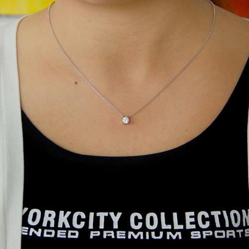 pendentif femme argent zirconium 8300774 pic4