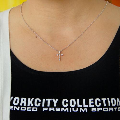 pendentif femme argent zirconium 8300777 pic4