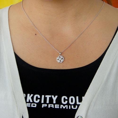 pendentif femme argent zirconium 8300778 pic4