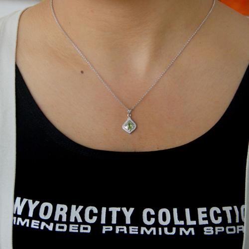 pendentif femme argent zirconium 8300781 pic4